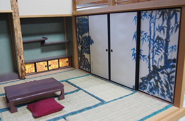 和室セット D801 | 檀(まゆみ)8畳間